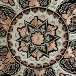 Safir Serisi - El İşi Bakır Tabak - 04