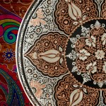Yakut Serisi - El İşi Bakır Tabak - 04
